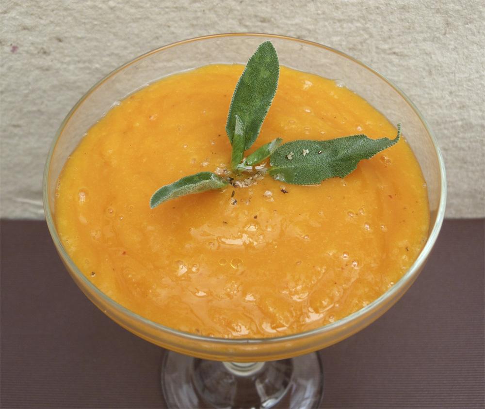 Crema de carabassa i mango1